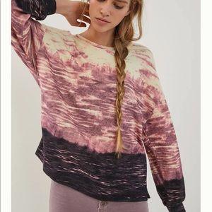 NWT Anthropologie Feliza Tie-Dye Sweater